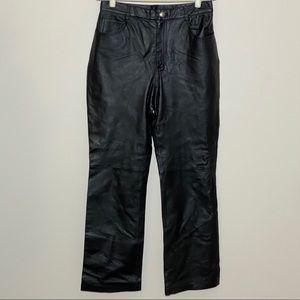 Newport News Leather Pants Black Size 12